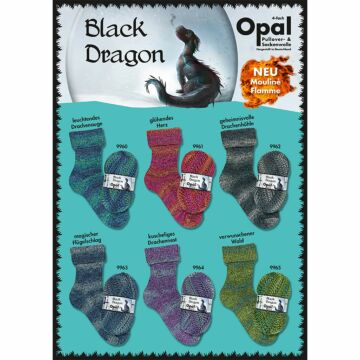 "600g Sparpaket ""Opal Black Dragon"""