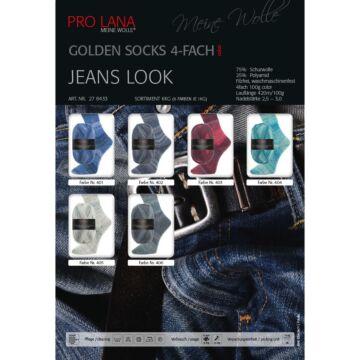 """600g Sparpaket """"Golden Socks Jeans Look"""""""