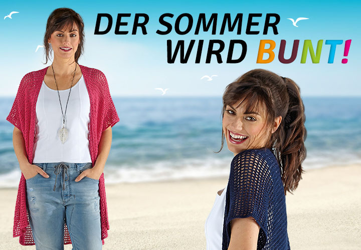 Entdecken Sie unsere Sommermodelle